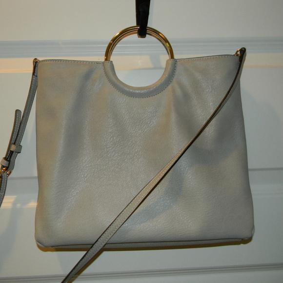 e4295fb54be LC Lauren Conrad Handbags - LC LAUREN CONRAD DOVE GRAY BRACELET CROSSBODY  BAG!